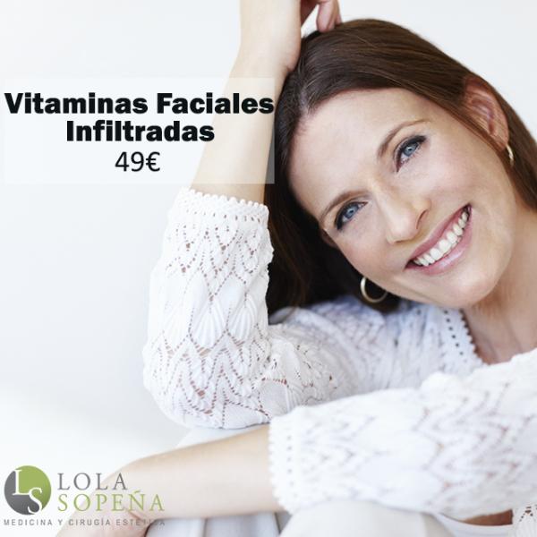 Vitaminas Faciales Infiltradas 49€