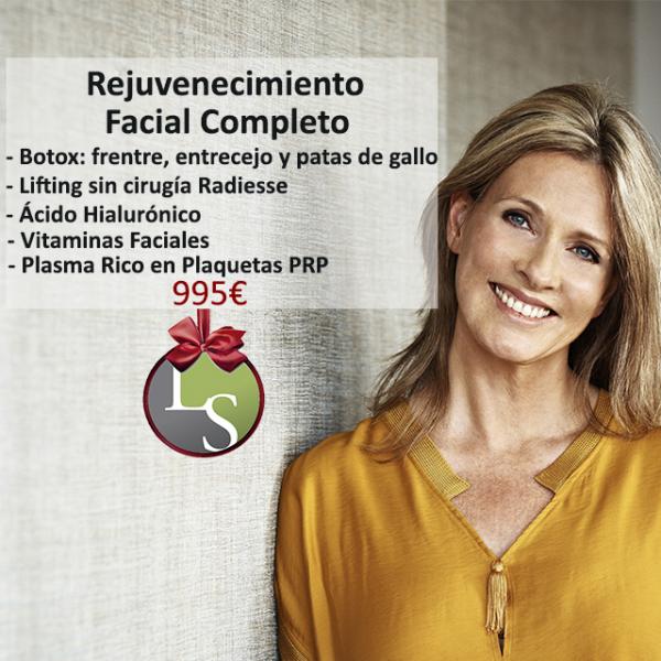 Rejuvenecimiento Facial Completo 995€