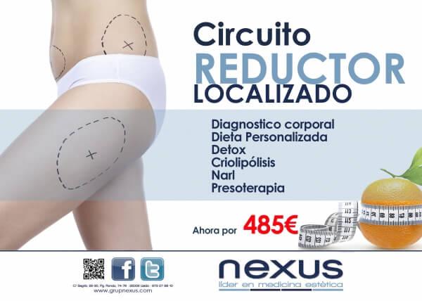 Circuito Reductor Localizado  en TodoEstetica.com