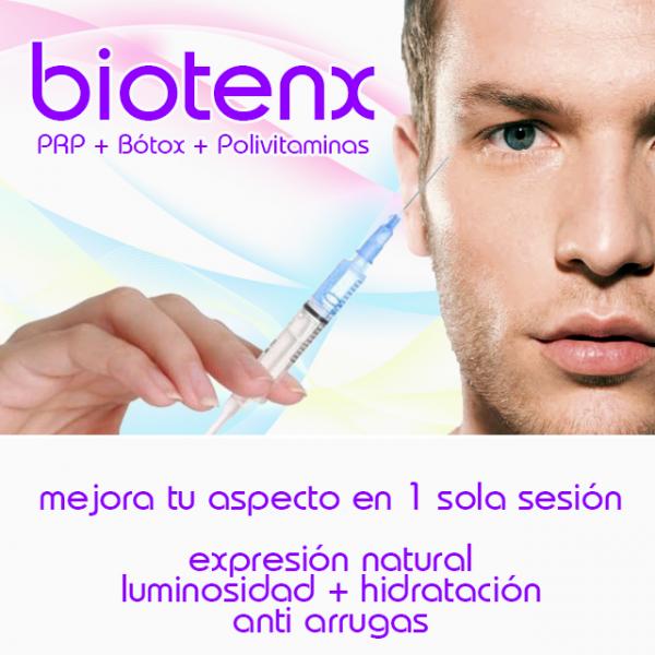 BIOTENX: Combinación de PRP, bótox y polivitamínico