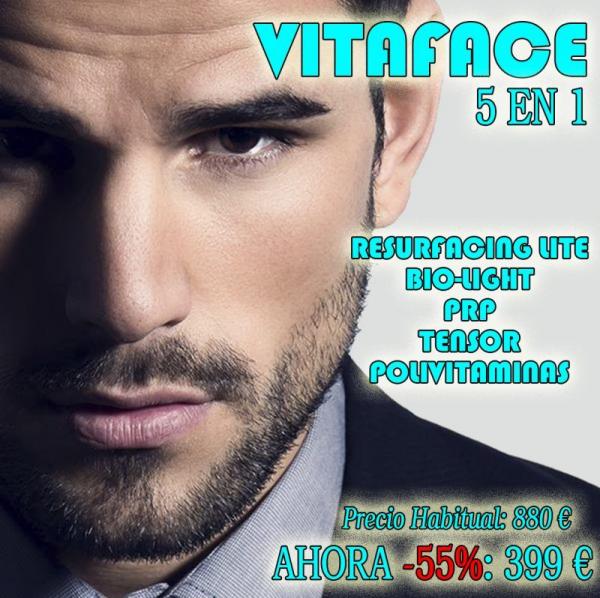 VITAFACE: Tratamiento 5 en 1 para lucir un nuevo rostro de forma natural.