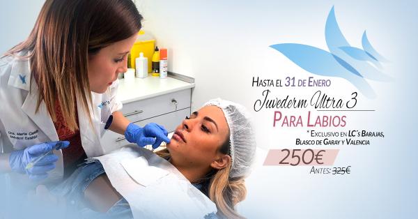 ¡Super promoción! Aumento de labios 250€ (antes 325€) en TodoEstetica.com