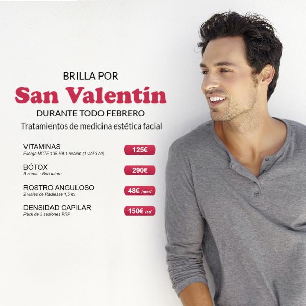 Promoción Especial San Valentín – Para hombre en TodoEstetica.com