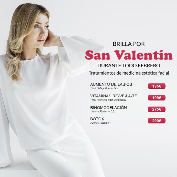 Promociones San Valentín para ELLA en TodoEstetica.com