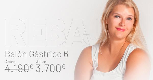 2das Rebajas - Balón Gástrico 6 meses en TodoEstetica.com