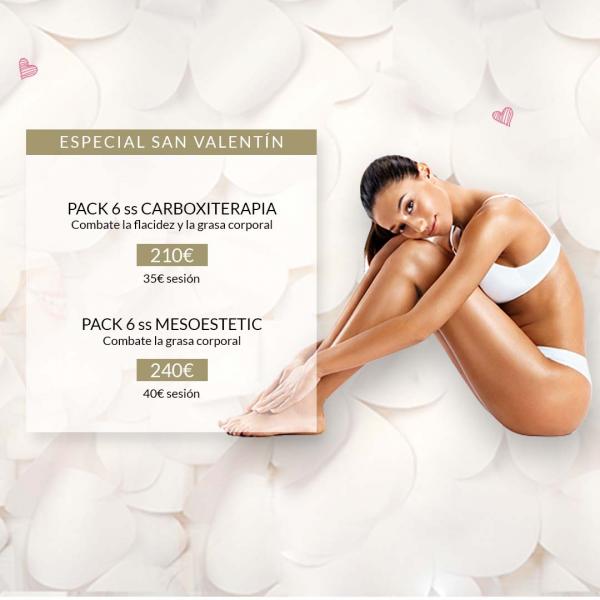 Promociones San Valentín Programas Corporales en TodoEstetica.com