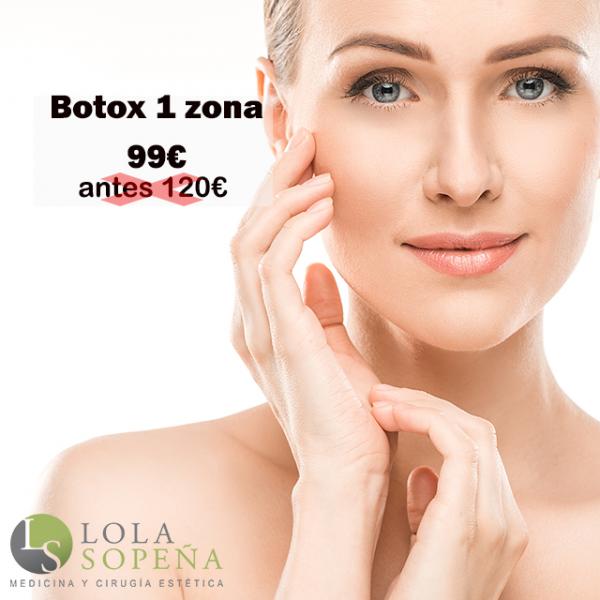 Botox en zona 99€