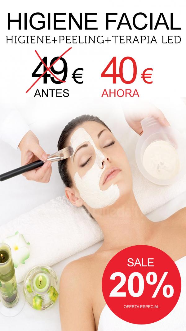 Ilumina tu rostro con la Higiene plus Led en TodoEstetica.com
