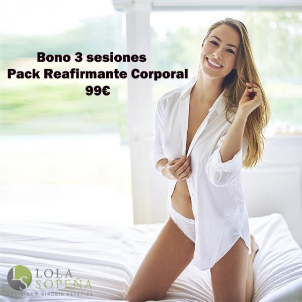 Pack Reafirmante Corporal Bono 3 sesiones 99€