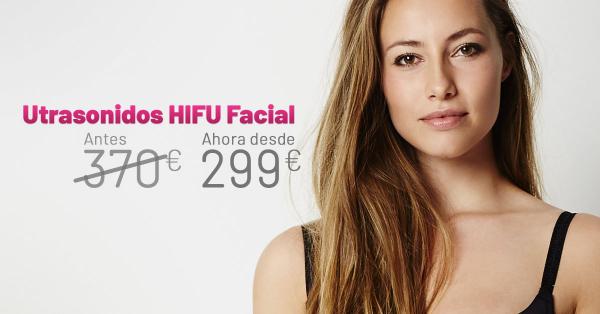 Rebajas Marzo - Ultrasonido HIFU Facial en TodoEstetica.com