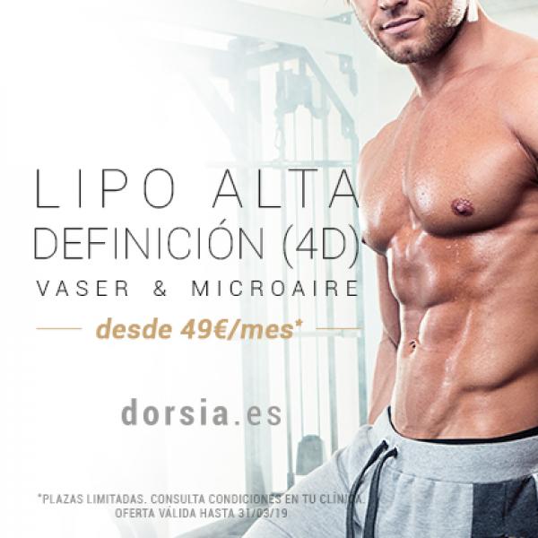 Liposucción Alta Definición 4D (Vaser & Microaire) desde 49€ al mes  en TodoEstetica.com