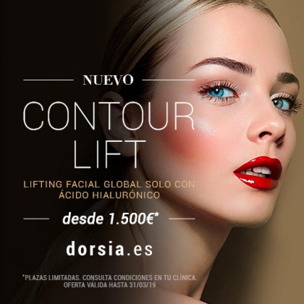 Nuevo tratamiento Contour Lift: El Lifting facial global con ácido hialurónico desde 1.500€.