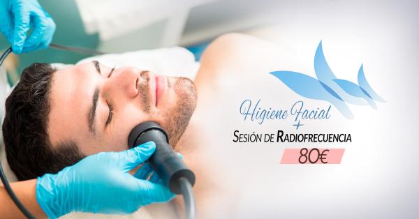 Higiene facial profunda + Radiofrecuencia 80€ en TodoEstetica.com