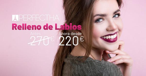 Rebajas - Relleno de Labios en TodoEstetica.com