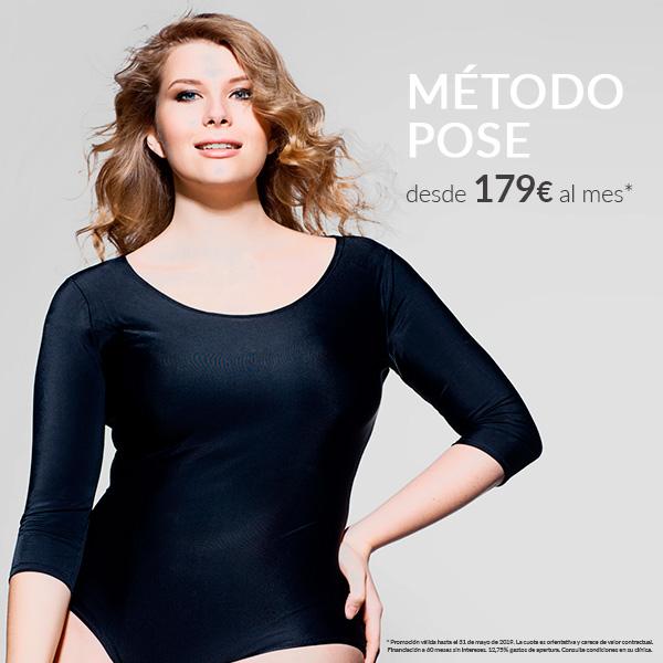 Método POSE - Solo en Mayo - Seguimiento nutricional incluído  en TodoEstetica.com