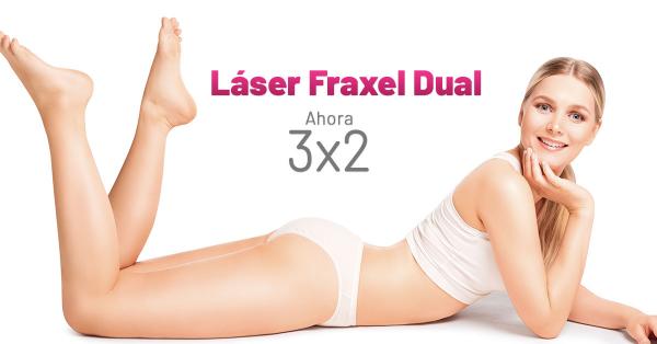 Rebajas - Láser Fraxel