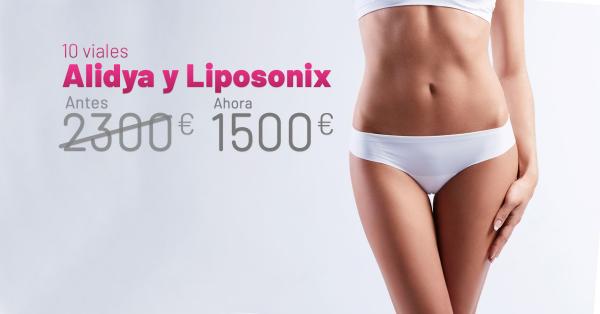 Rebajas Abril - Alidya Y Liposonix