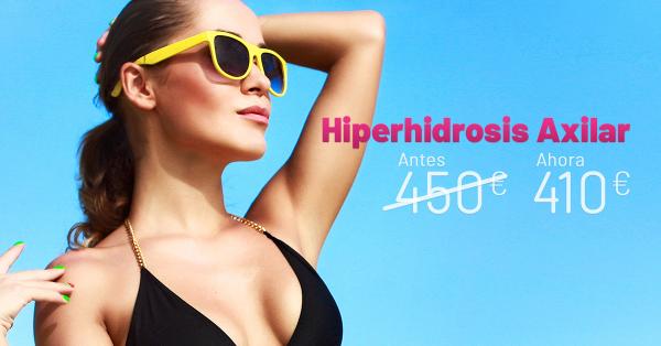 Rebajas Junio - Hiperhidrosis