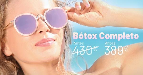 Rebajas Junio - Botox Completo en TodoEstetica.com