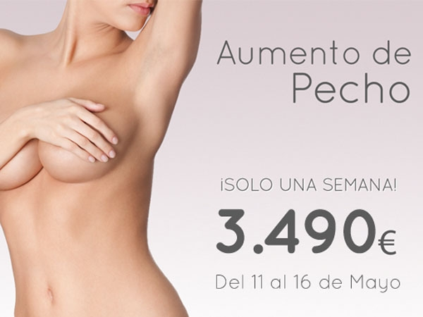Aumento de Pecho 3.490€ Todo Incluido