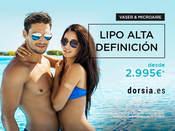 Lipo Alta Definición (Vaser & Microaire)