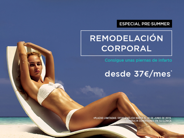 Remodelación corporal desde 37€ al mes