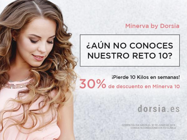 Únete a nuestro reto 10, con la ayuda de nuestros profesionales médicos y nutricionistas de Minerva By Dorsia en TodoEstetica.com