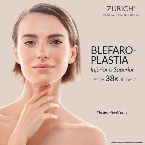 Cirugía del mes en Zurich · Blefaroplastia inferior o superior