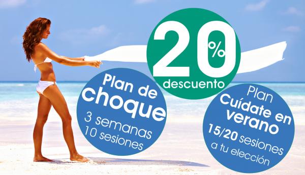 ¿Quieres lucir figura este verano? Descubre nuestros planes de CHOQUE en TodoEstetica.com