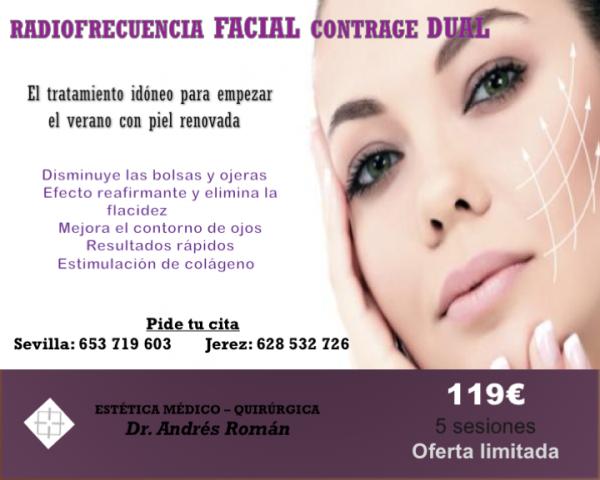 Radiofrecuencia facial 30 %