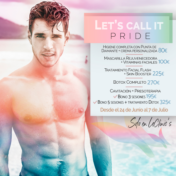 Promociones especiales hasta el 7 de julio. Let´s call it pride! en TodoEstetica.com