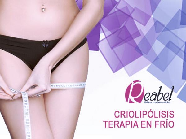 Elimina volumen con FRIO!! Criolipolisis