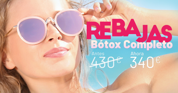 Rebajas de verano - Botox completo en TodoEstetica.com