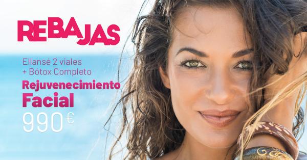Rebajas de verano- Rejuvenecimiento facial completo
