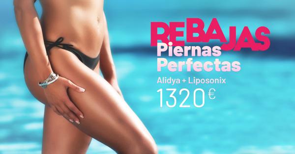 Rebajas de verano - Alidya y Liposonix