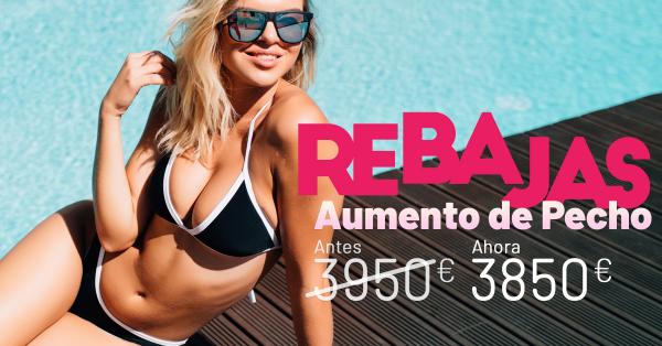 Rebajas de verano - Aumento de pecho en TodoEstetica.com