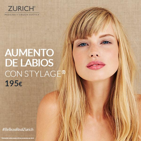 ¿Aumentar el volumen de tus labios por 195€? Solo en Clínicas Zurich