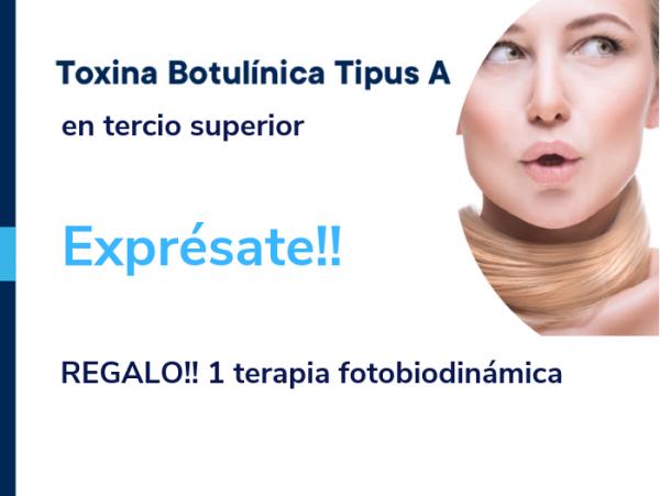 Exprésate sin complejos! Botox + regalo 1 terapia fotobiodinámica