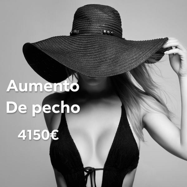 AUMENTO DE PECHO 4150€