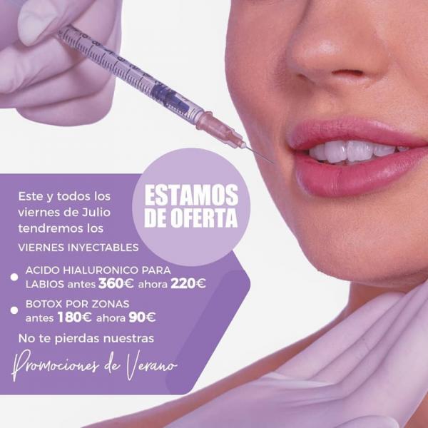 VIERNES INYECTABLES en TodoEstetica.com