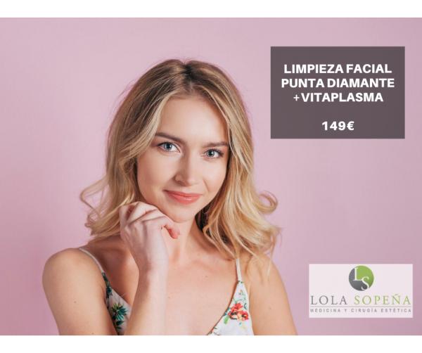 Limpieza Facial con Punta Diamante
