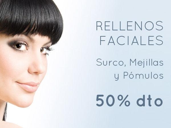 Relleno Facial de Ácido Hialurónico 50% Descuento en TodoEstetica.com