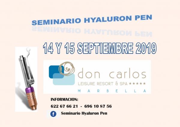 Seminario Hyaluron Pen en TodoEstetica.com
