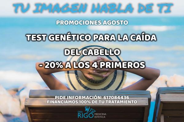 TEST GENÉTICO ALOPECIA en TodoEstetica.com
