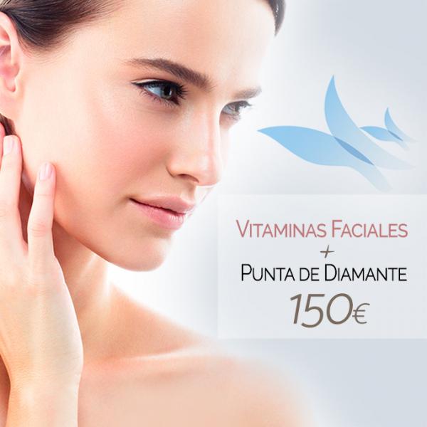Vitaminas faciales + Punta de diamante 150€ en TodoEstetica.com
