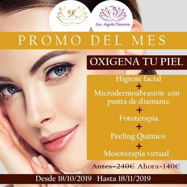 Promoción: Oxigena tu piel