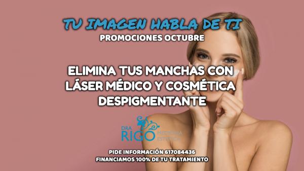 ELIMINA TUS MANCHAS FACIALES en TodoEstetica.com