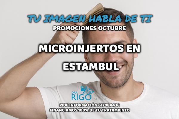PROMOCIÓN EN MICROINJERTOS en TodoEstetica.com