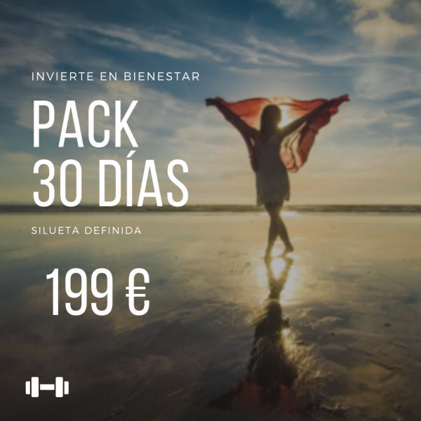 Pack 30 días | silueta definida en TodoEstetica.com