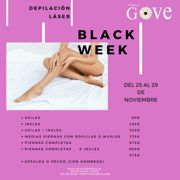 DEPILACION LASER - Black friday